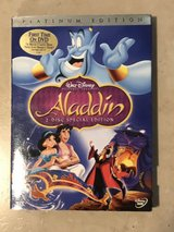 Disney DVDs Aladdin, Enchanted, The Incredibles EUC in Travis AFB, California