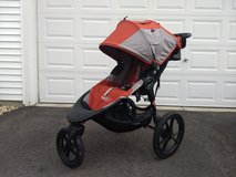 Baby Jogger Summit X3 Running Stroller - lots of extras in Yorkville, Illinois
