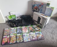 Xbox 360 + kinect + 12 games + infinity + extras in Fort Campbell, Kentucky