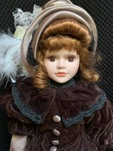 "Artmark Porcelain Victorian Doll 17"" in Westmont, Illinois"