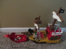 Fisher Price Great Adventures Pirate Ship 77041 in Glendale Heights, Illinois