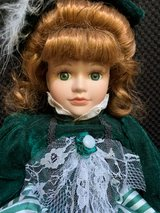 Artmark Collector's Porcelain Girl Doll in Westmont, Illinois