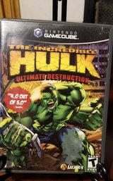 GameCube The Increible Hulk Ultimate Destruction in New Lenox, Illinois