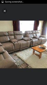 Leather Recliner couches in Fort Lewis, Washington