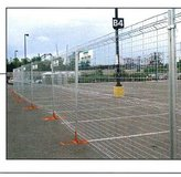 Temporary Fencing in Travis AFB, California