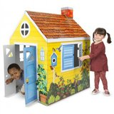 Country Cottage Indoor Playhouse (Cardboard) in Fort Bragg, North Carolina