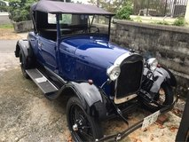 1929 Ford Model A in Okinawa, Japan