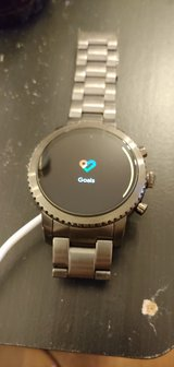 Fossil q explorist gen 3 smoked stainless steel in bookoo, US