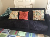 Couch with pillows in Kingwood, Texas