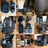 Nikon d90+ lenses + accessories in Fairfield, California