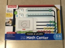 Fisher Price Think & Learn Math Center PreSchool Age Brand New in Travis AFB, California