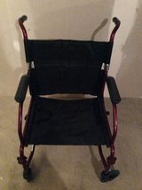 Midline Portable wheel chair in Plainfield, Illinois