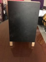 Double sided  standing chalkboard 11in tall in Travis AFB, California