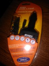jensen power and travel universal dc adapter in Beaufort, South Carolina