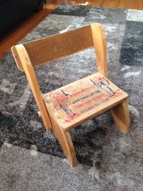 Child's Chair/Step Stool in Westmont, Illinois