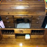 Roll Top Mennonite made Desk in Fort Campbell, Kentucky