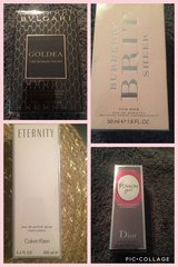 NEW Perfume DIOR, BVLGARI, BURBERRY, ETERNITY in Kingwood, Texas