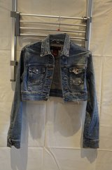crop stretch jean jacket in Ramstein, Germany