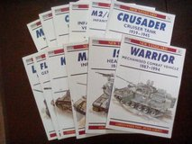 12 softcover tank books new vanguard Sherman Bradley Abrams more-- in Camp Lejeune, North Carolina
