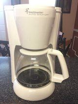 Toastmaster auto shut off coffee maker 12 cup in Oswego, Illinois