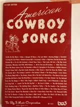 Am. Cowboy Songs Songbook in Westmont, Illinois