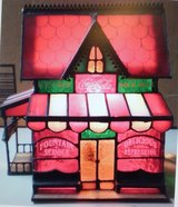 COCA COLA STAINED GLASS CORNER STORE LAMP in Westmont, Illinois