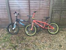 boy and girls bikes in Lakenheath, UK