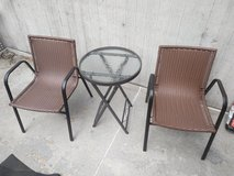 Patio Chairs & Table in Stuttgart, GE