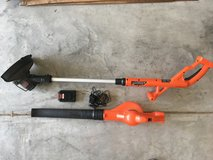 BLACK+DECKER 20V MAX String Trimmer / Edger and Sweeper Combo Kit in Beaufort, South Carolina