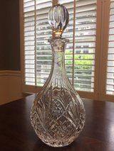 Crystal decanter in Beaufort, South Carolina