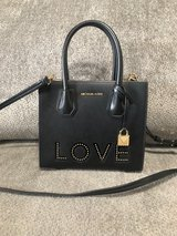 Michael Kors Purse (Black) in Fort Campbell, Kentucky