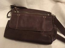Fossil brown leather messenger purse in Ramstein, Germany