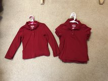Red uniform polos size 4/5, and 6/6x in Leesville, Louisiana