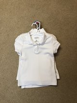White uniform polos size 4/5 and 6/6x in Leesville, Louisiana