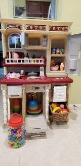 Toy kitchen for children in Camp Pendleton, California