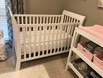 Baby Bed and Mattress, Changing Table in Cleveland, Texas