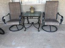 Swivel and rocking patio chairs (set of 2) in 29 Palms, California