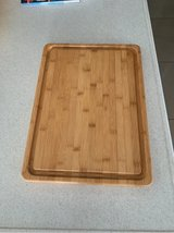 Pampered Chef wooden cutting board in Okinawa, Japan