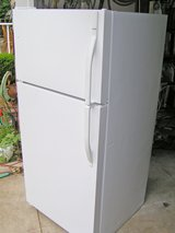 Refrigerator 18 cubic foot-White in Warner Robins, Georgia