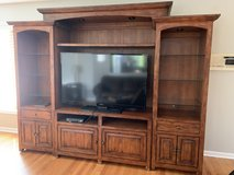 Entertainment center. Holds 55 inch tv in Westmont, Illinois