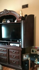 Solid wood armoire/dresser/TV center in Clarksville, Tennessee