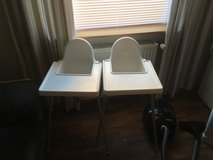 two high chairs in Ramstein, Germany