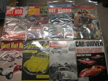 OVER 100 COLLECTIBLE CAR MAGAZINES...1950'S AND NEWER in St. Charles, Illinois
