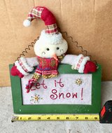 Let it Snow Hanging Snowman Decoration in Glendale Heights, Illinois