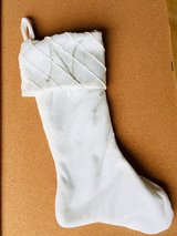 White & Green Christmas Stockings in Glendale Heights, Illinois
