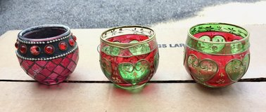 Christmas Glass Votive or Tealight Holders in Glendale Heights, Illinois