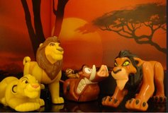 1994 Lion King Kids' Meal Toys in Okinawa, Japan