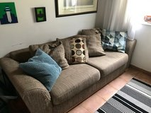 Beige/neutral couch in Ramstein, Germany