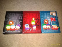 South Park Deasons 1-3 DVD in Ramstein, Germany