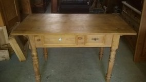 Restored antique Farmhouse kitchen table in Ramstein, Germany